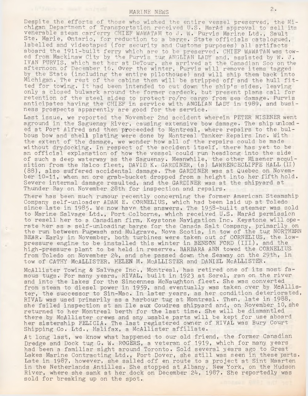Scanner, v. 21, no. 4 (January 1989)