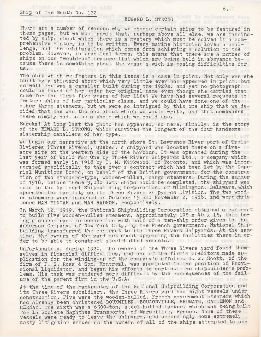 Scanner, v. 21, no. 6 (March 1989)