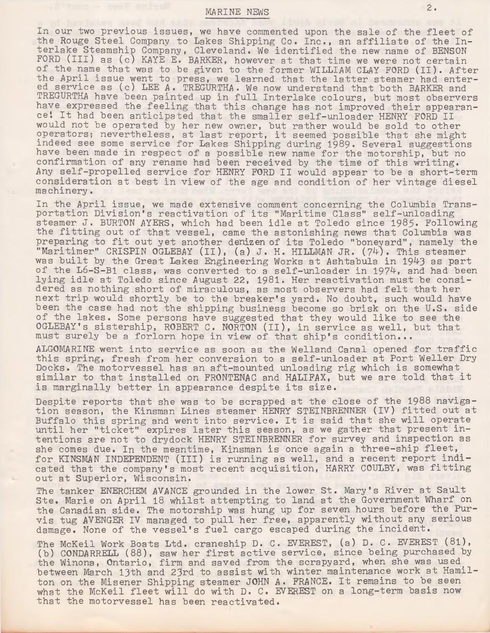 Scanner, v. 21, no. 8 (May 1989)