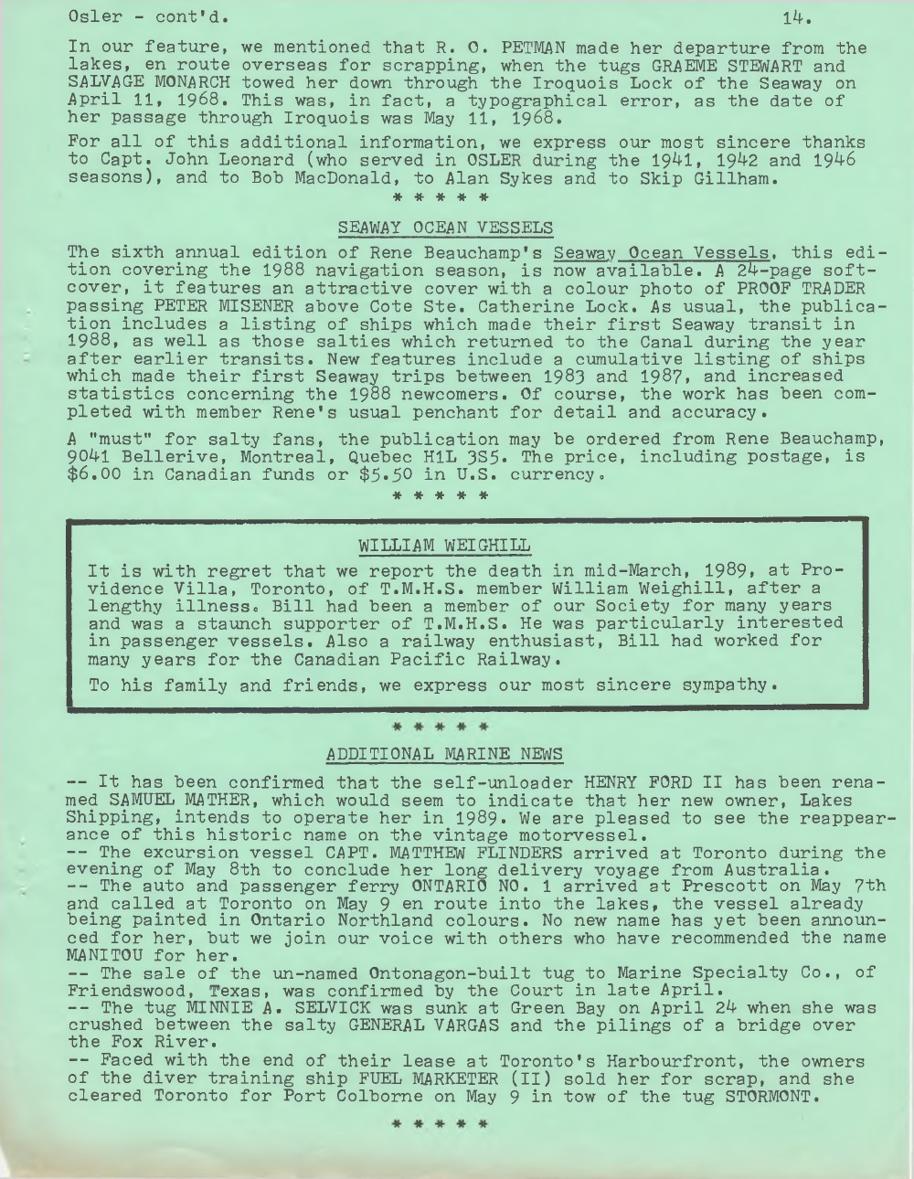 Scanner, v. 21, no. 8 (May 1989)