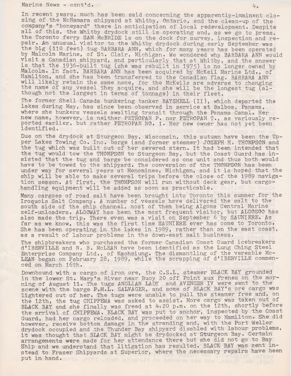 Scanner, v. 22, no. 1 (October 1989)