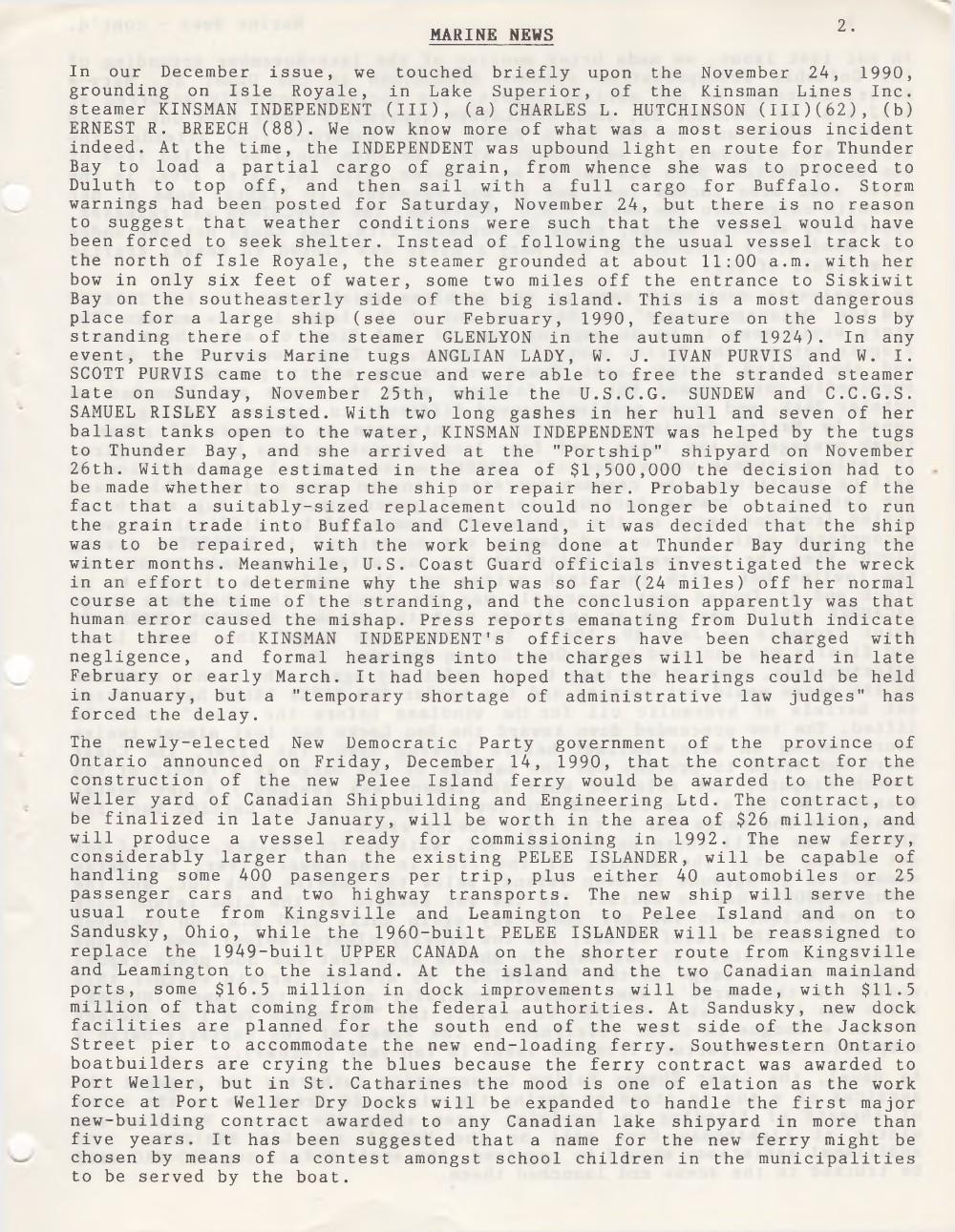 Scanner, v. 23, no. 4 (January 1991)