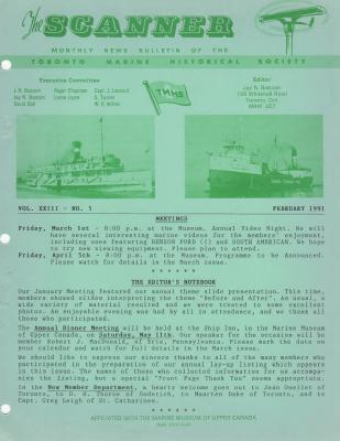 Scanner, v. 23, no. 5 (February 1991)