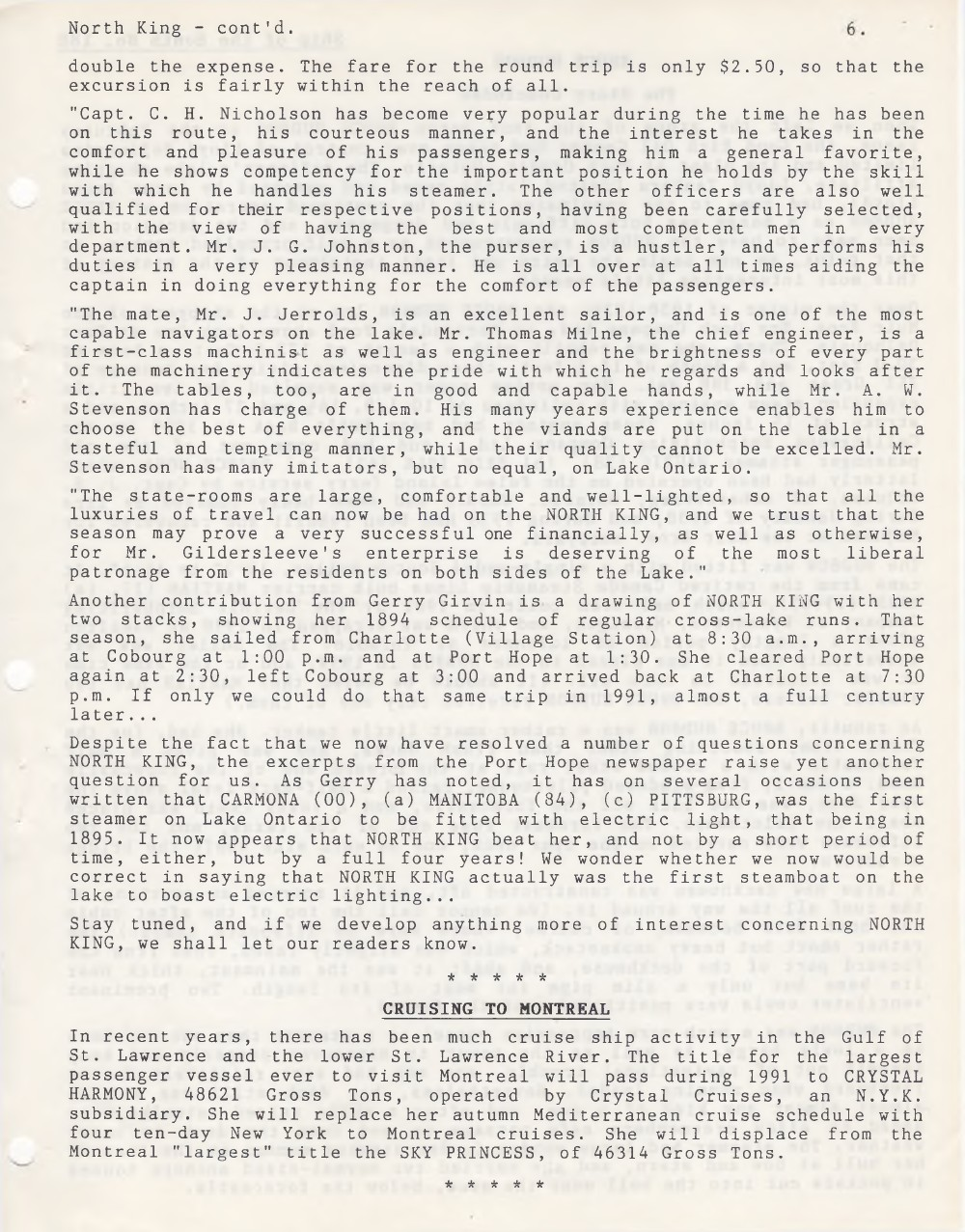 Scanner, v. 23, no. 6 (March 1991)