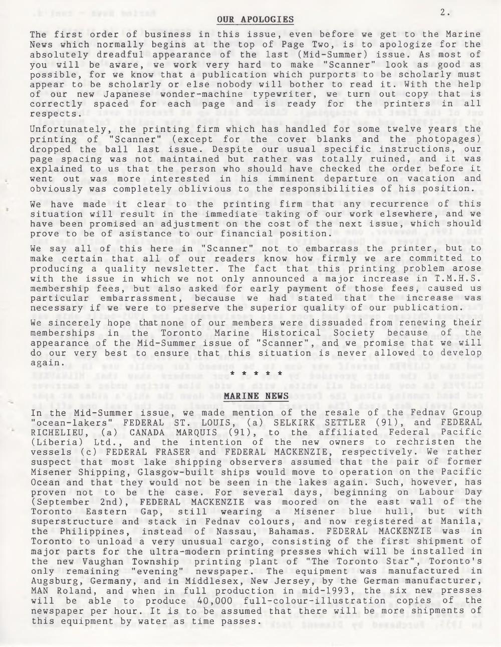 Scanner, v. 24, no. 1 (October 1991)