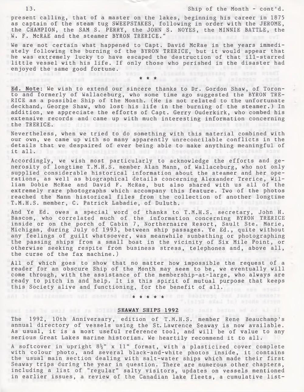 Scanner, v. 25, no. 9 (Mid-Summer 1993)