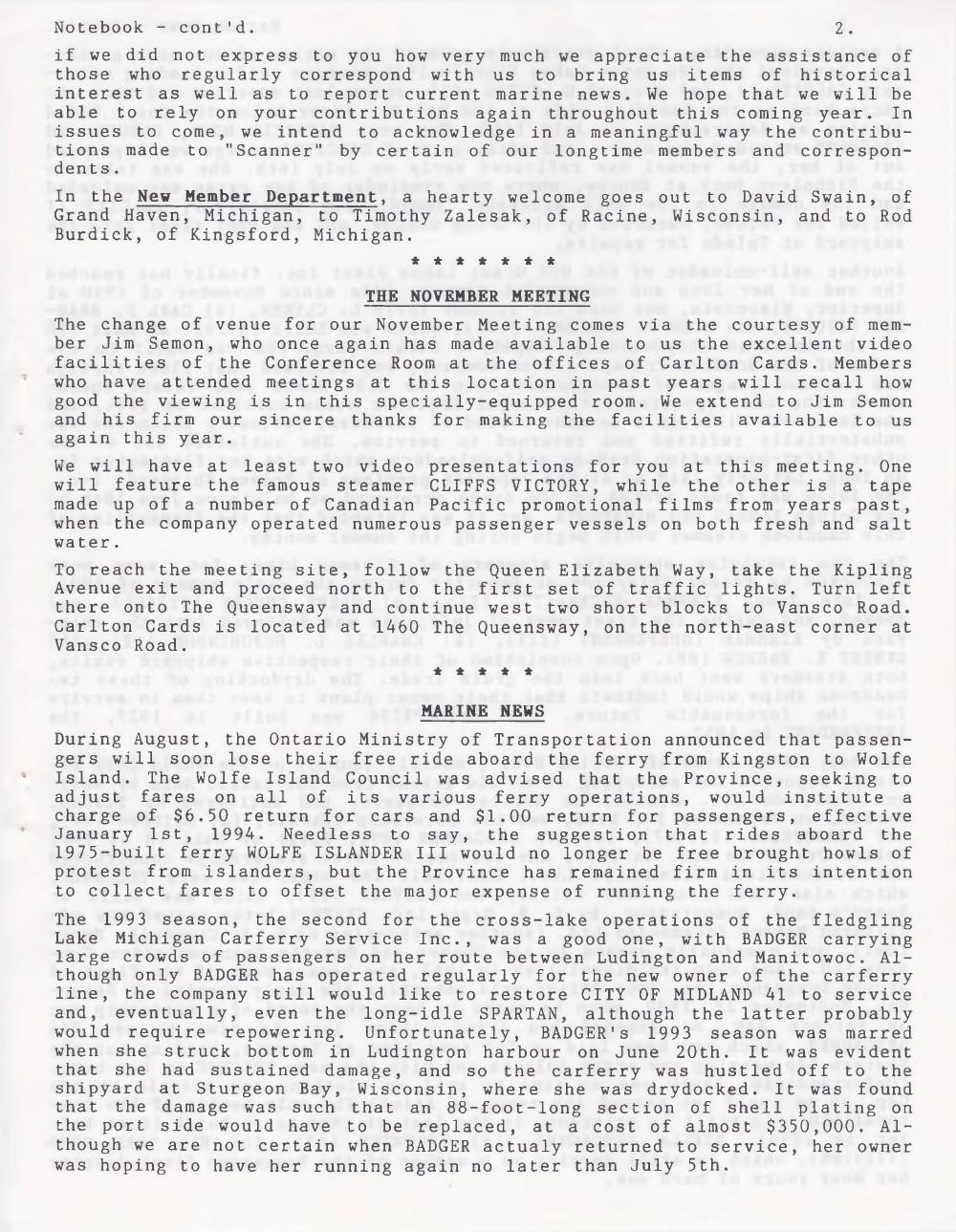 Scanner, v. 26, no. 1 (October 1993)