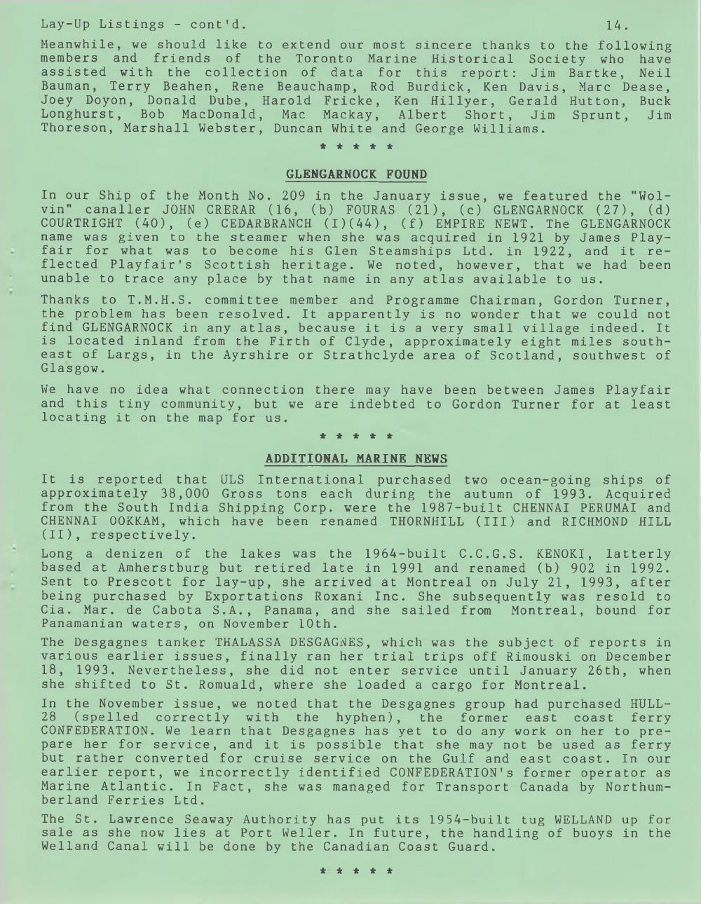 Scanner, v. 26, no. 5 (February 1994)