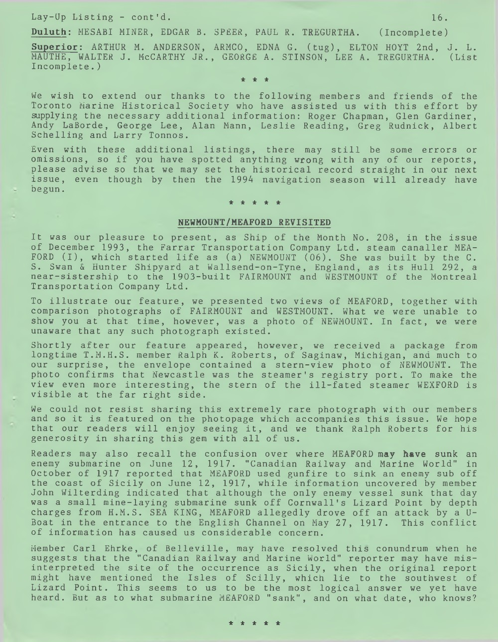 Scanner, v. 26, no. 6 (March 1994)