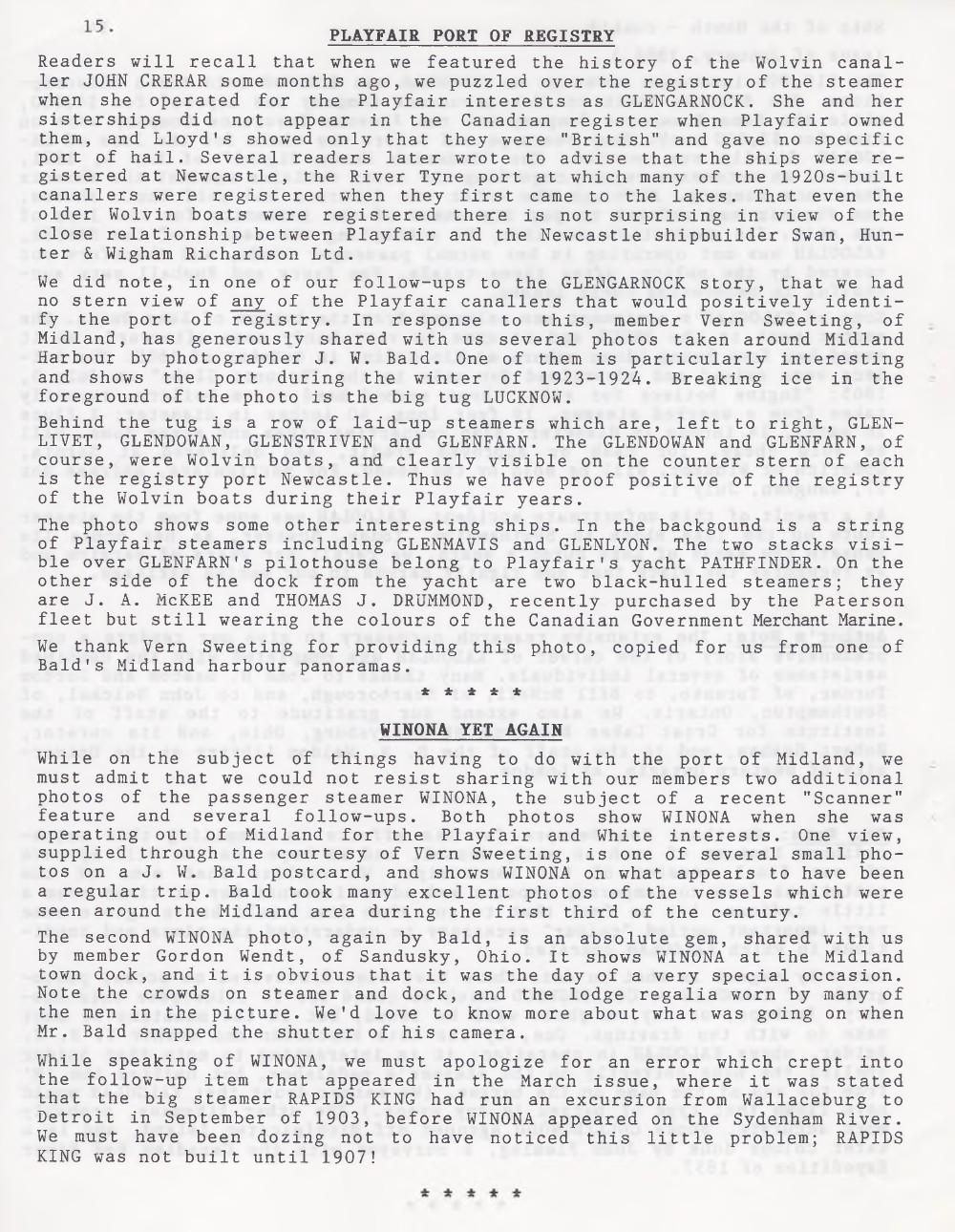 Scanner, v. 26, no. 8 (May 1994)