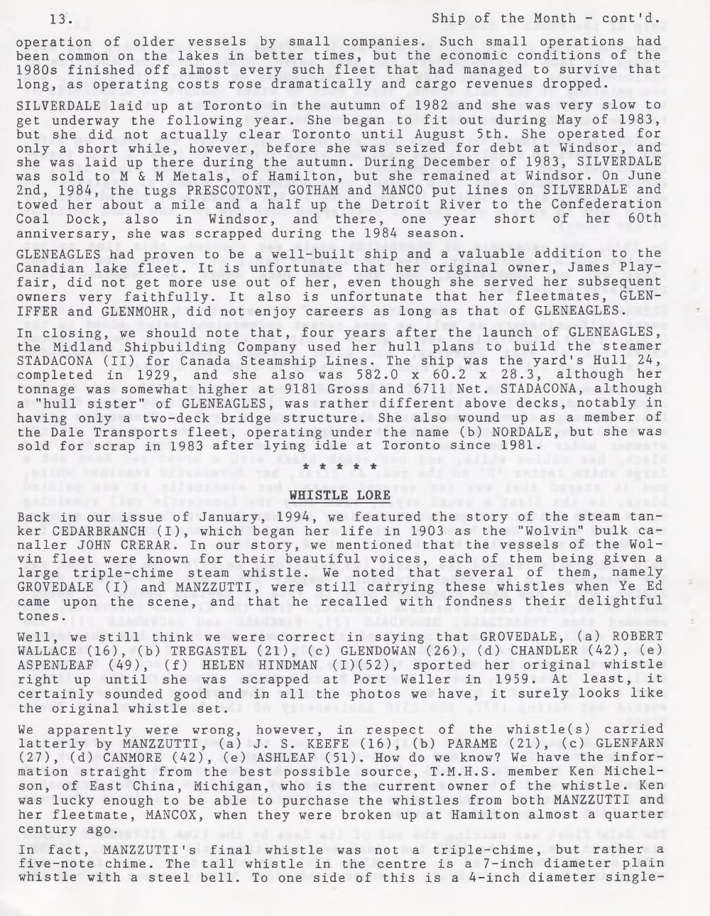 Scanner, v. 27, no. 1 (October 1994)