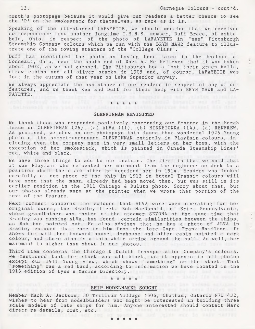 Scanner, v. 27, no. 7 (April 1995)