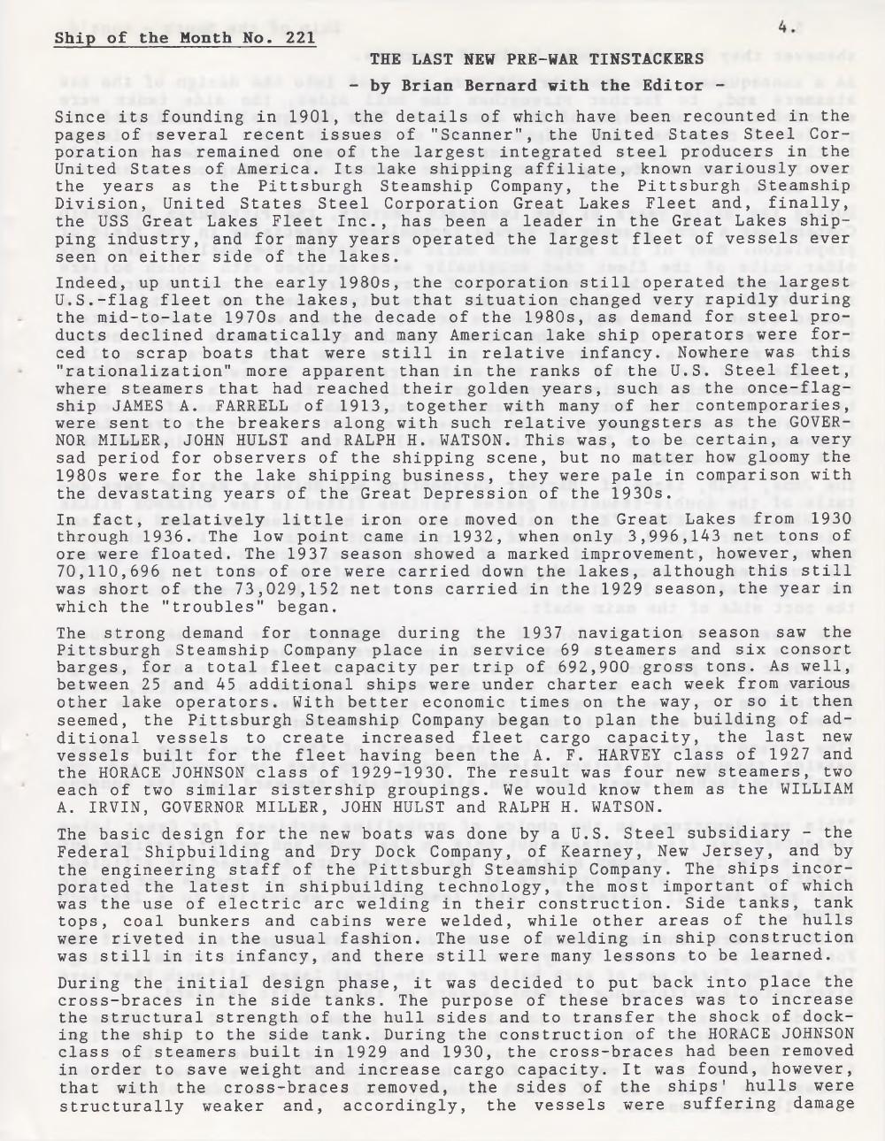 Scanner, v. 27, no. 8 (May 1995)