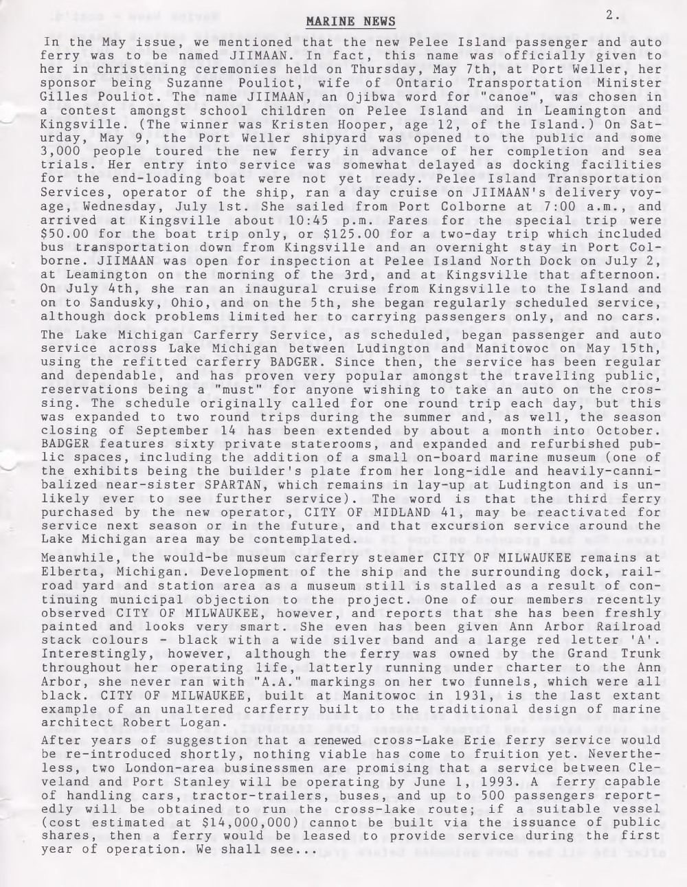 Scanner, v. 24, no. 9 (Mid-Summer 1992)