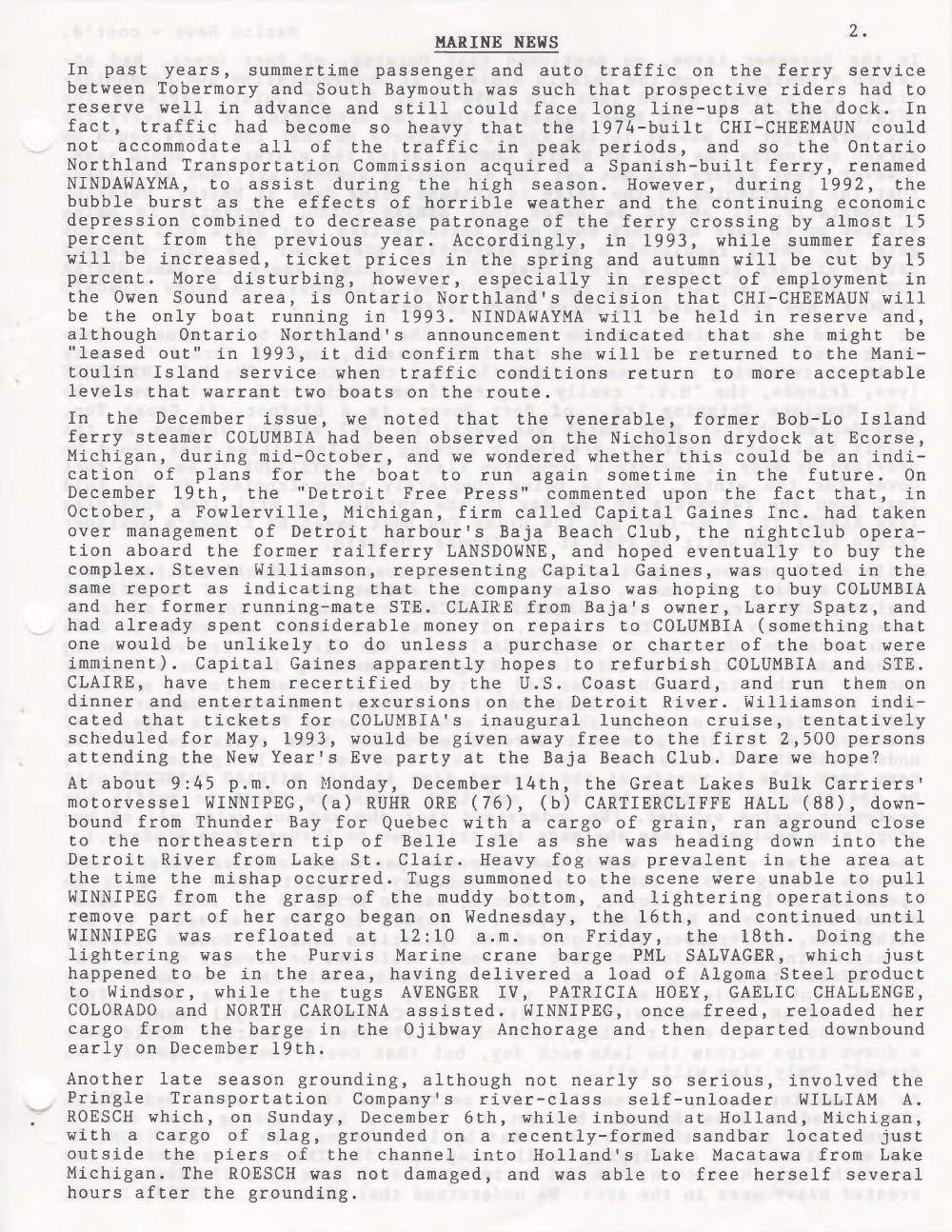 Scanner, v. 25, no. 4 (January 1993)