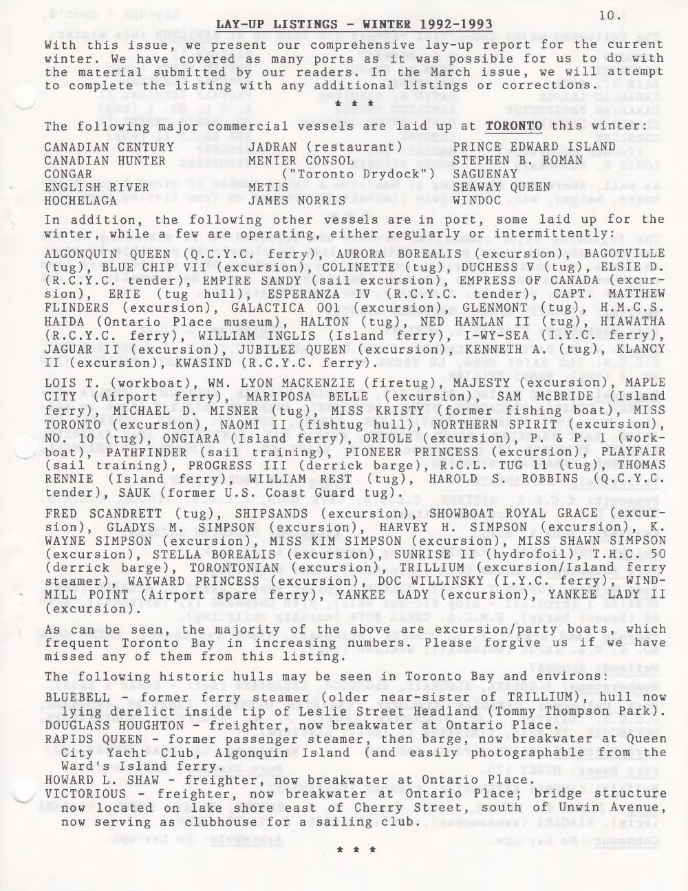 Scanner, v. 25, no. 5 (February 1993)