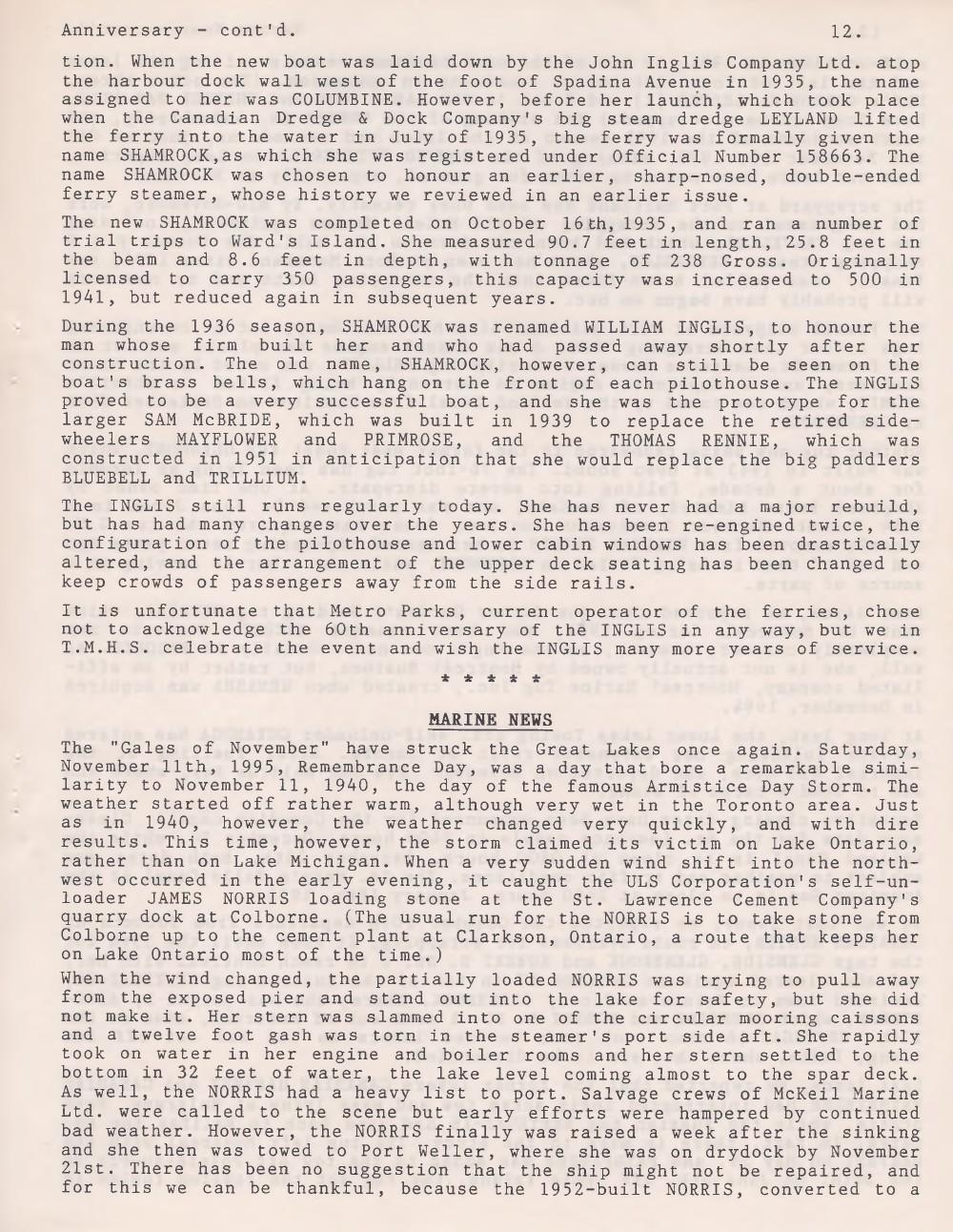 Scanner, v. 28, no. 3 (December 1995)