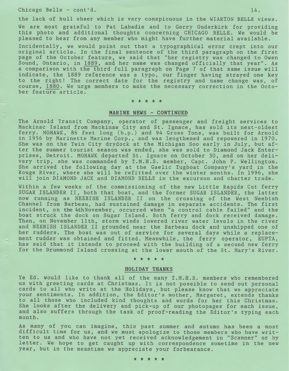 Scanner, v. 28, no. 4 (January 1996)