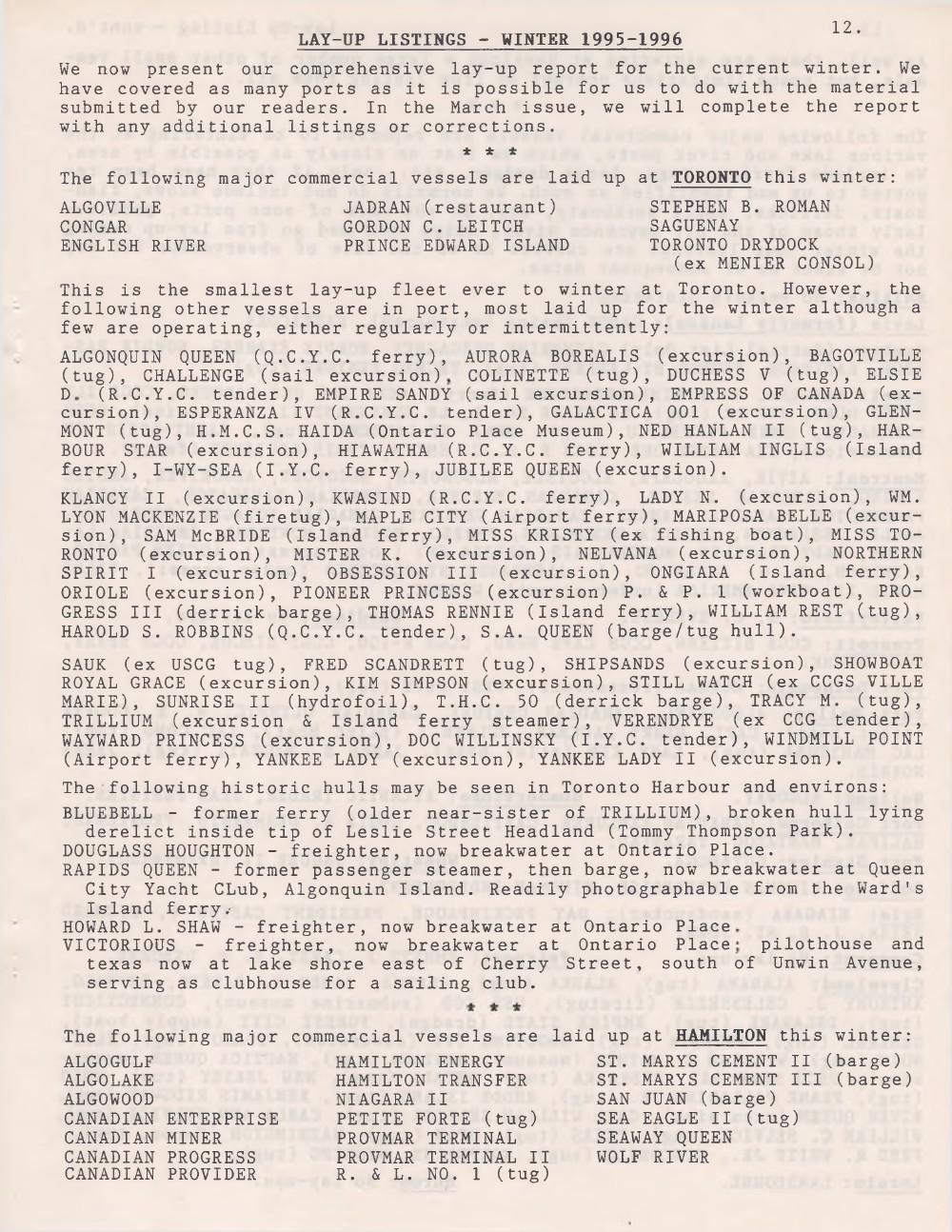 Scanner, v. 28, no. 5 (February 1996)