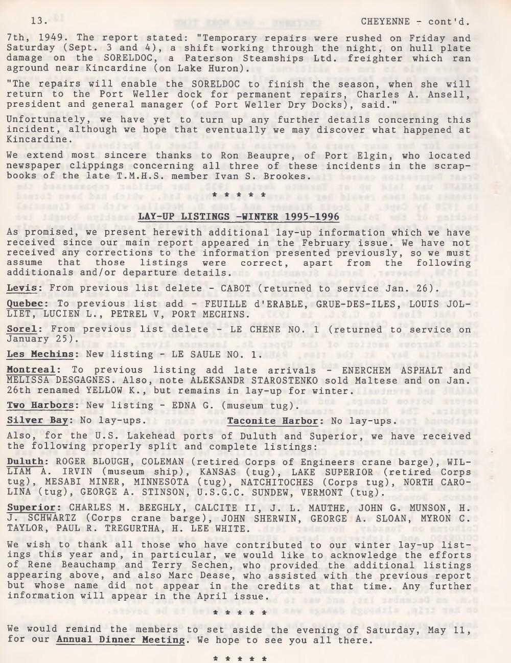 Scanner, v. 28, no. 6 (March 1996)