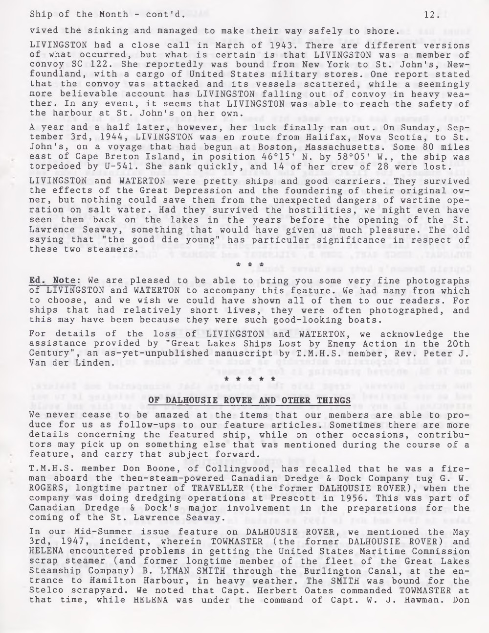 Scanner, v. 29, no. 2 (November 1996)