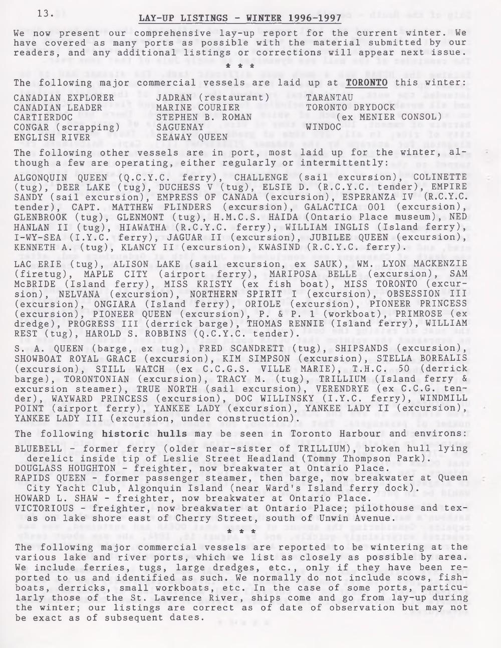 Scanner, v. 29, no. 5 (February 1997)
