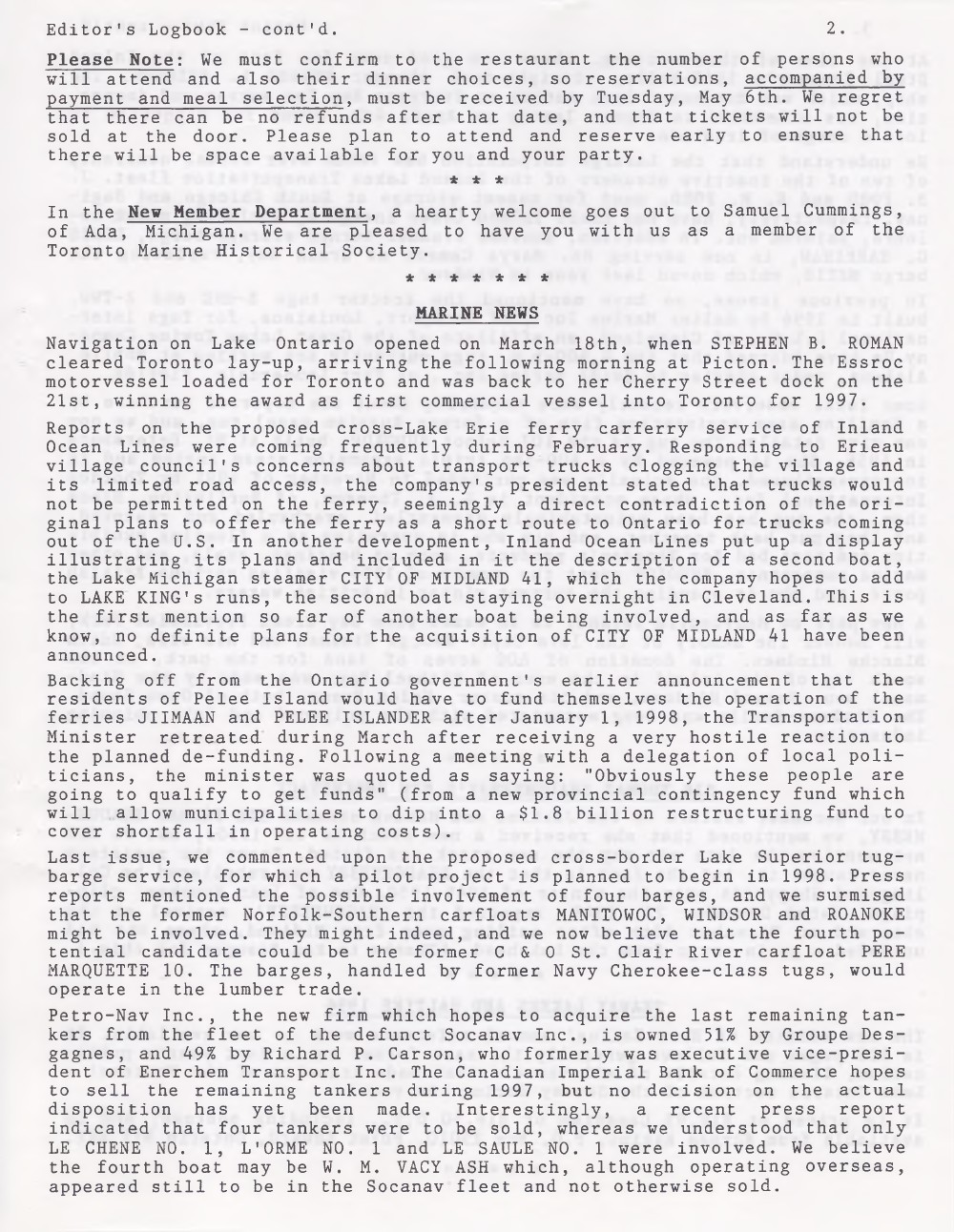 Scanner, v. 29, no. 7 (April 1997)