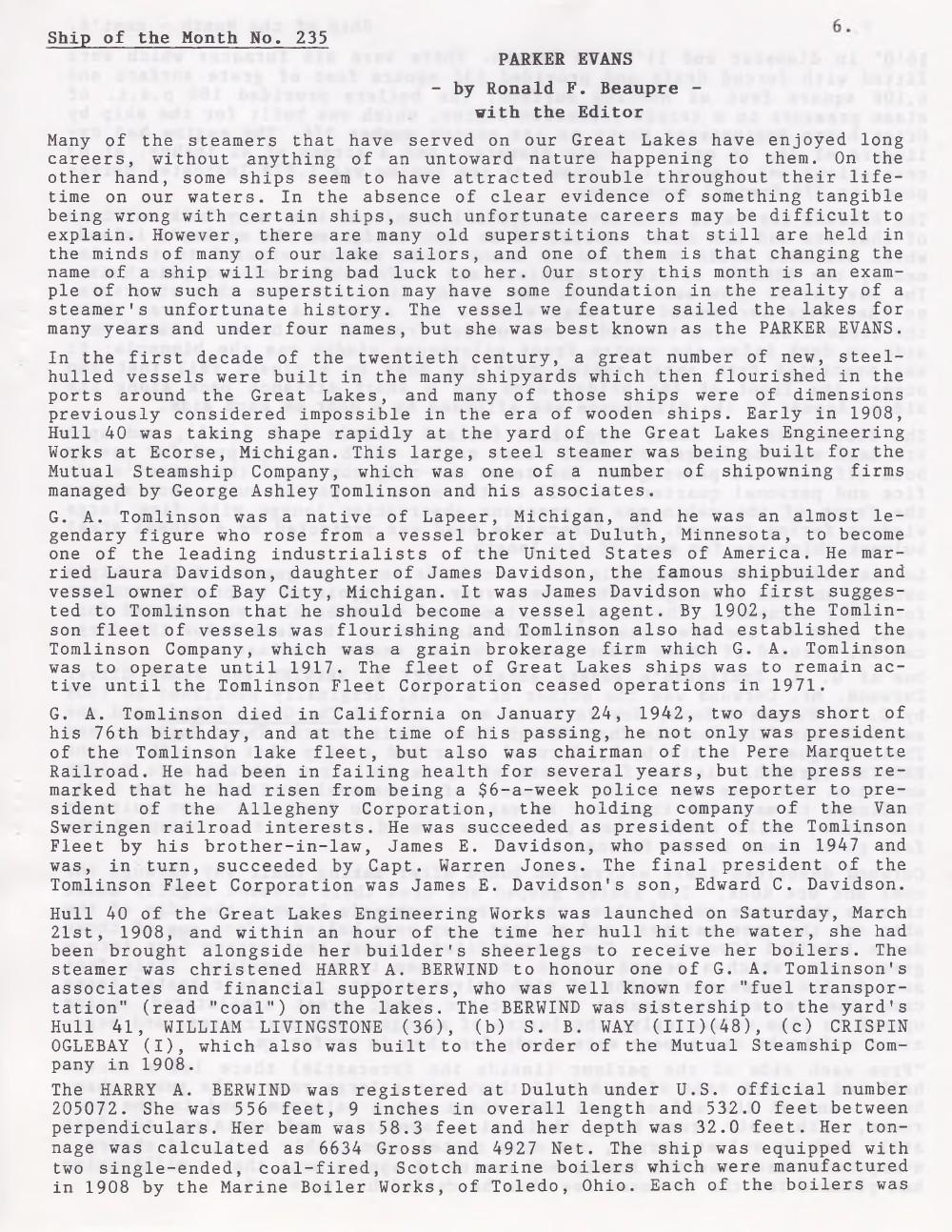Scanner, v. 29, no. 7 (April 1997)