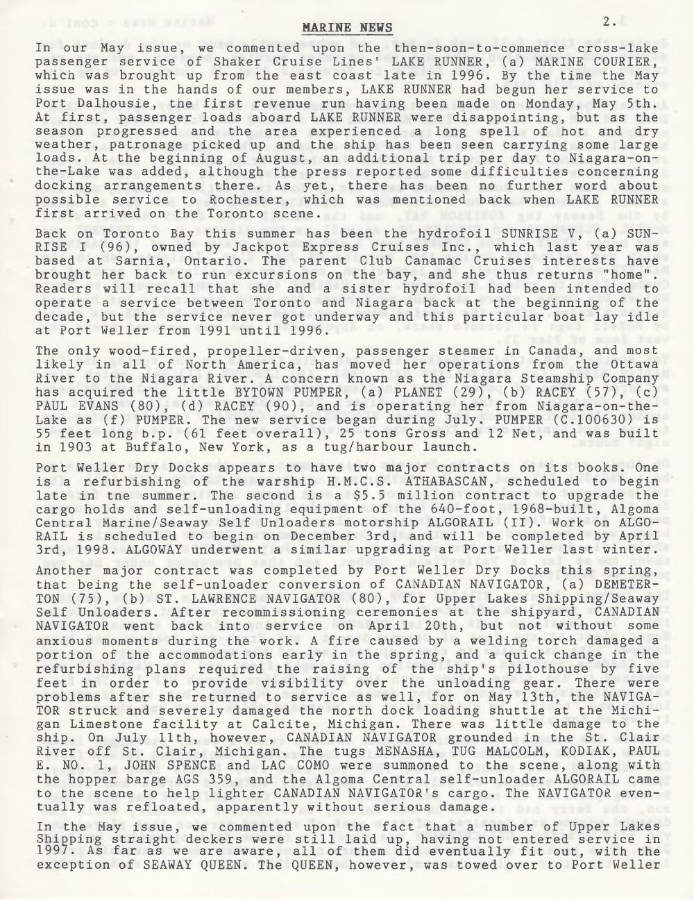 Scanner, v. 29, no. 9 (Mid-Summer 1997)