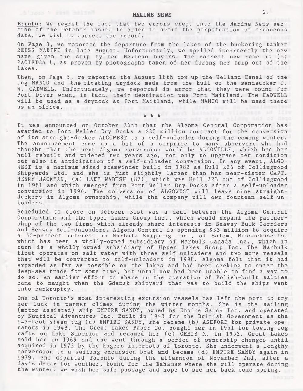 Scanner, v. 30, no. 2 (November 1997)