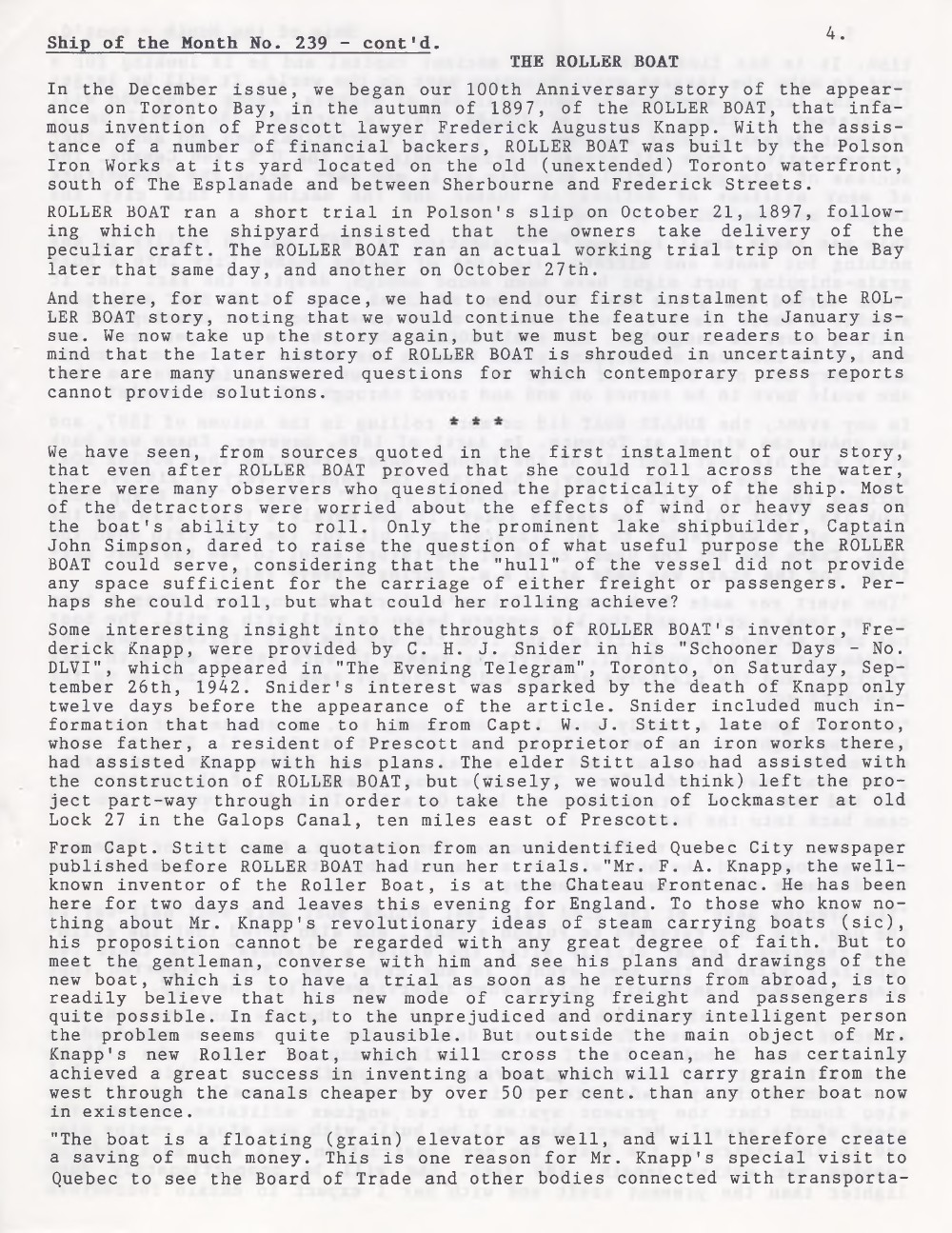 Scanner, v. 30, no. 4 (January 1998)