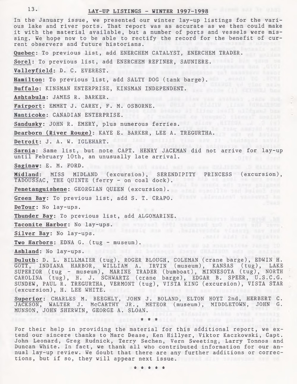 Scanner, v. 30, no. 6 (March 1998)