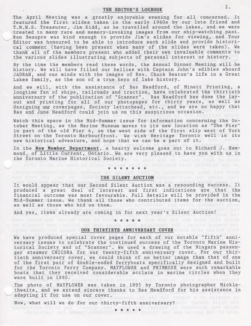 Scanner, v. 30, no. 8 (May 1998)