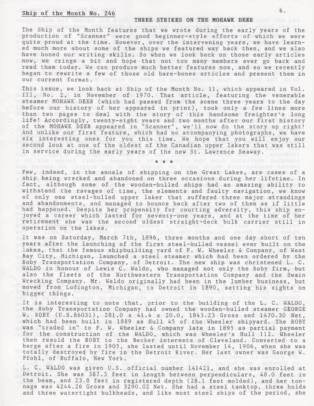 Scanner, v. 31, no. 4 (January 1999)