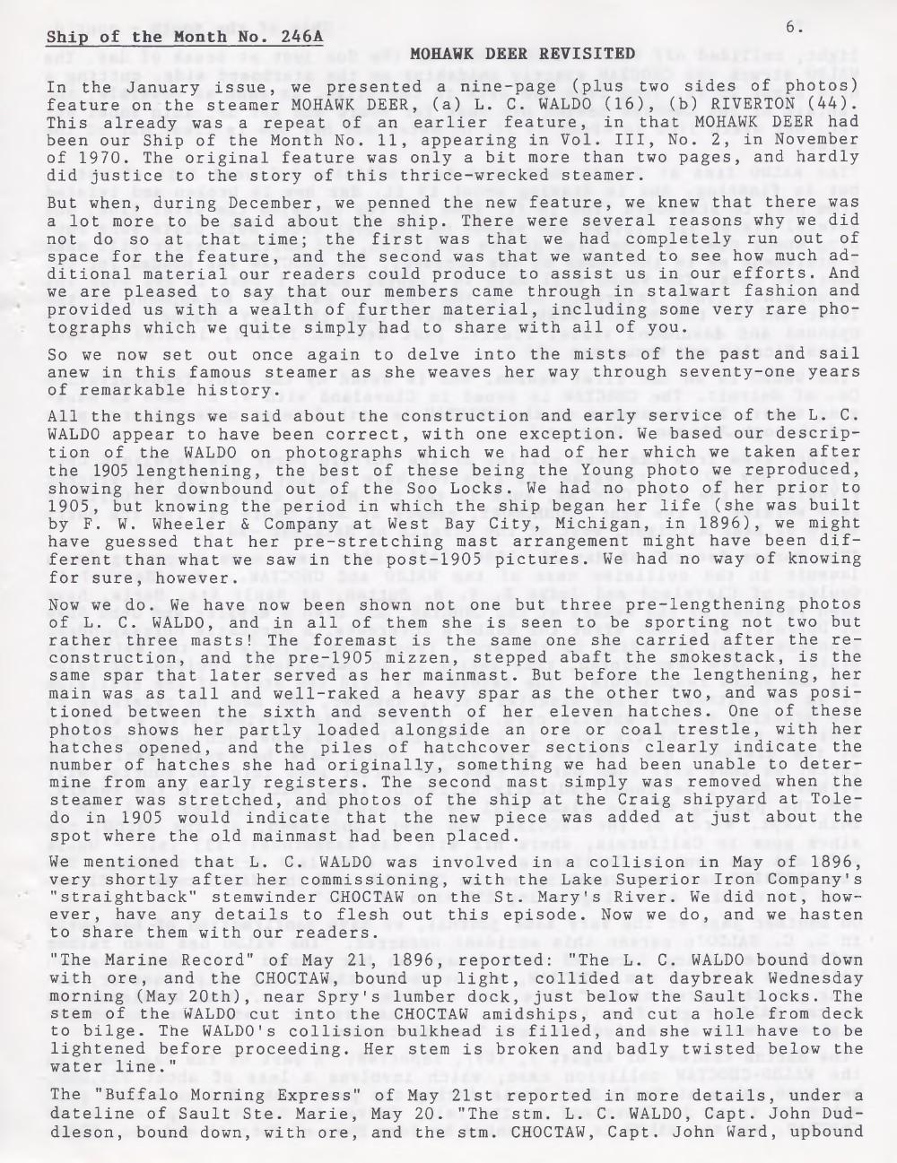 Scanner, v. 31, no. 6 (March 1999)