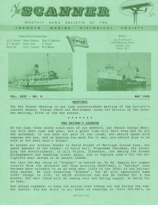 Scanner, v. 31, no. 8 (May 1999)