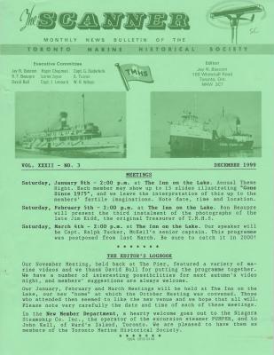 Scanner, v. 32, no. 3 (December 1999)