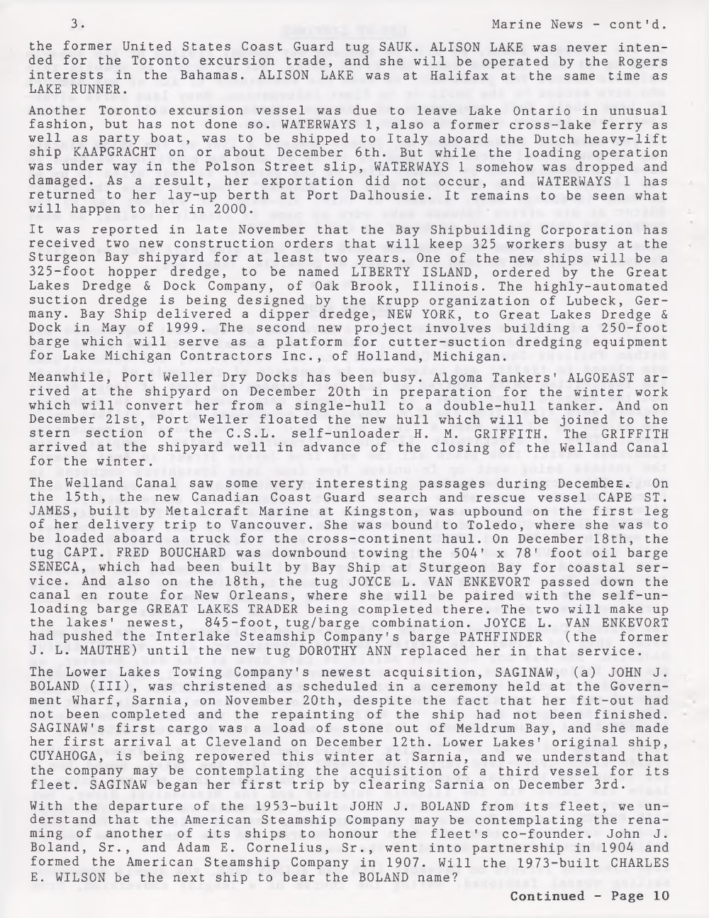 Scanner, v. 32, no. 4 (January 2000)