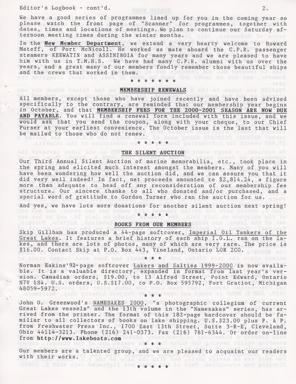 Scanner, v. 32, no. 9 (Mid-Summer 2000)