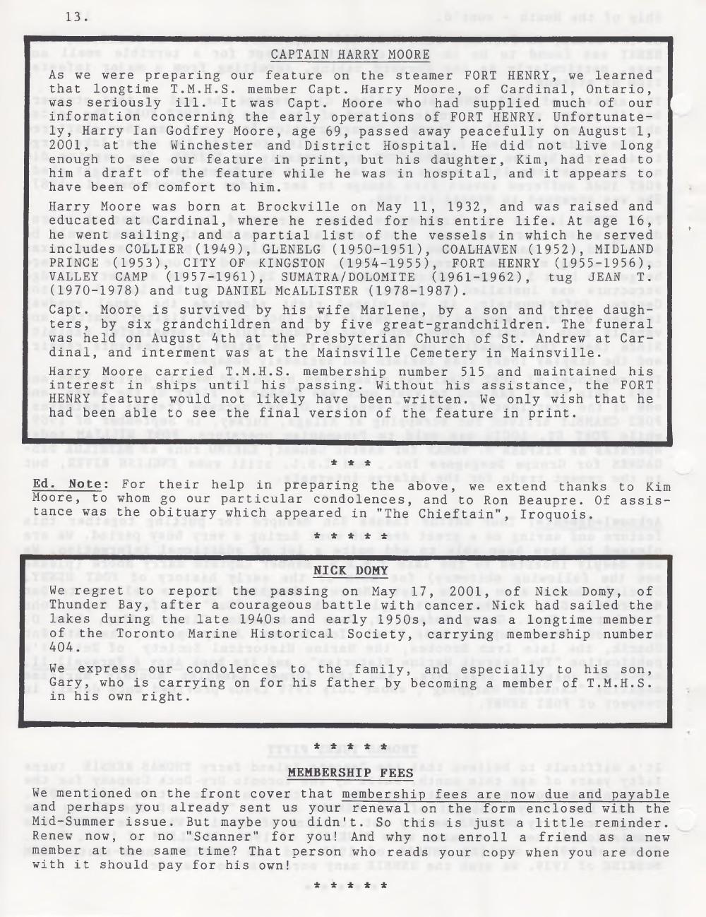 Scanner, v. 34, no. 1 (October 2001)