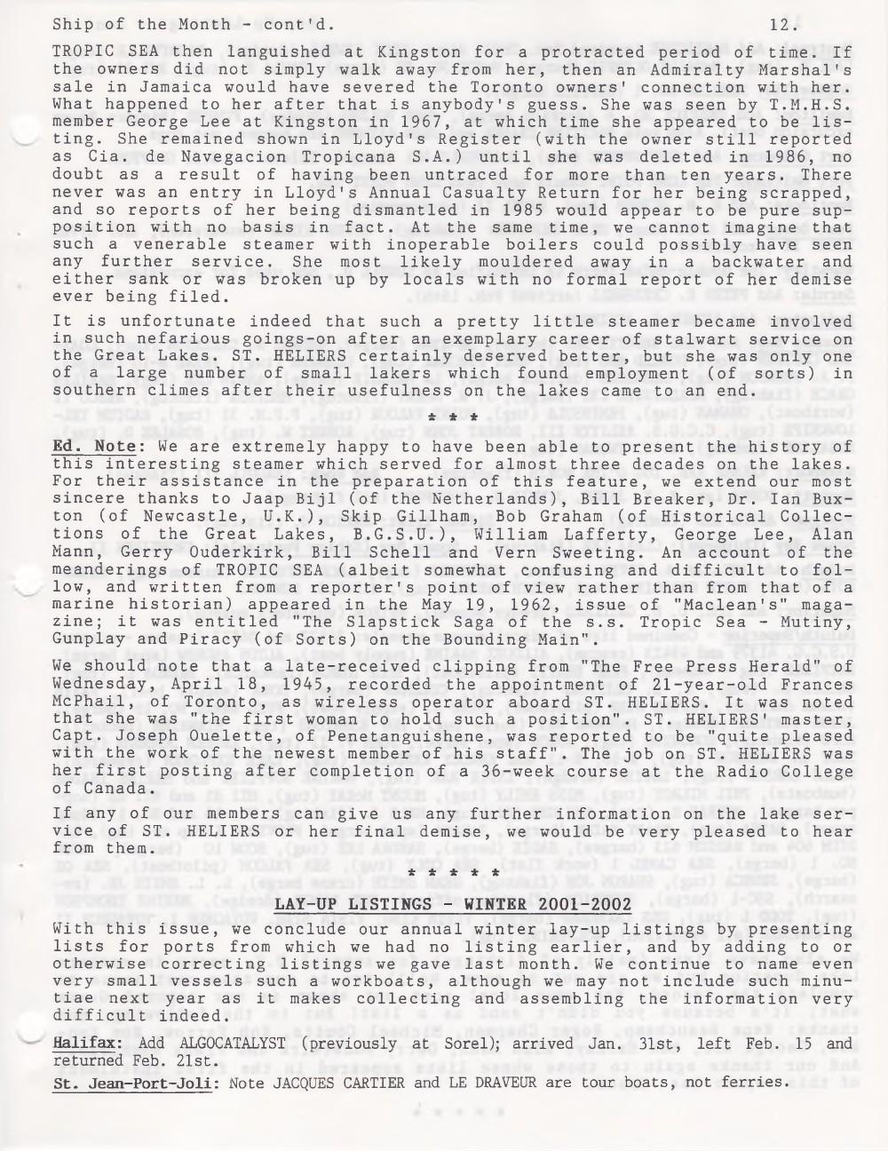 Scanner, v. 34, no. 6 (March 2002)
