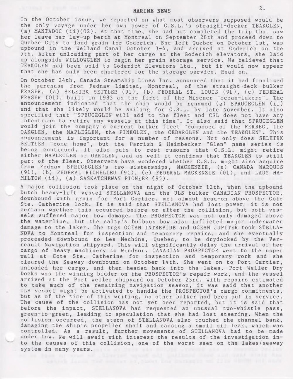 Scanner, v. 35, no. 2 (November 2002)