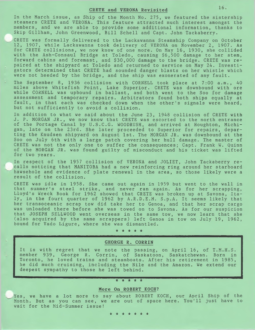 Scanner, v. 35, no. 8 (May 2003)