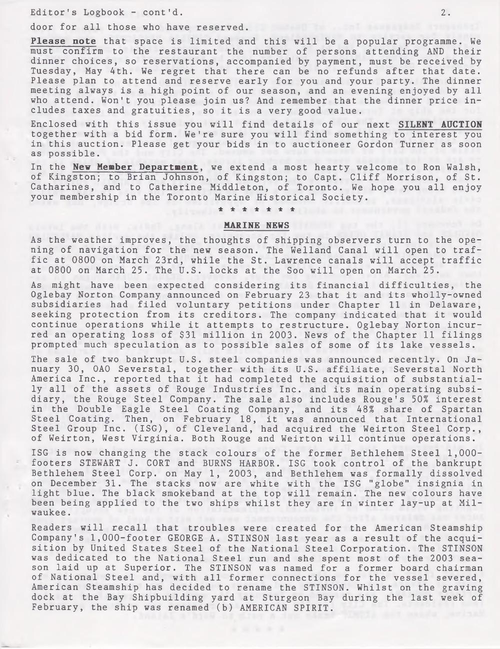 Scanner, v. 36, no. 6 (March 2004)
