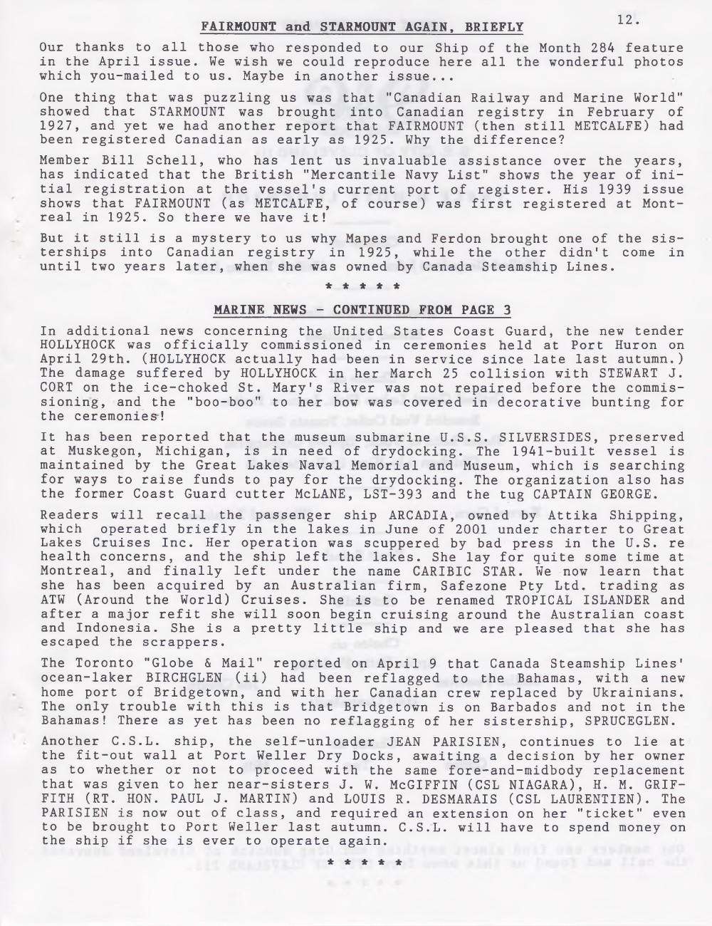 Scanner, v. 36, no. 8 (May 2004)