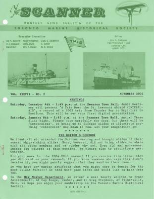 Scanner, v. 37, no. 2 (November 2004)