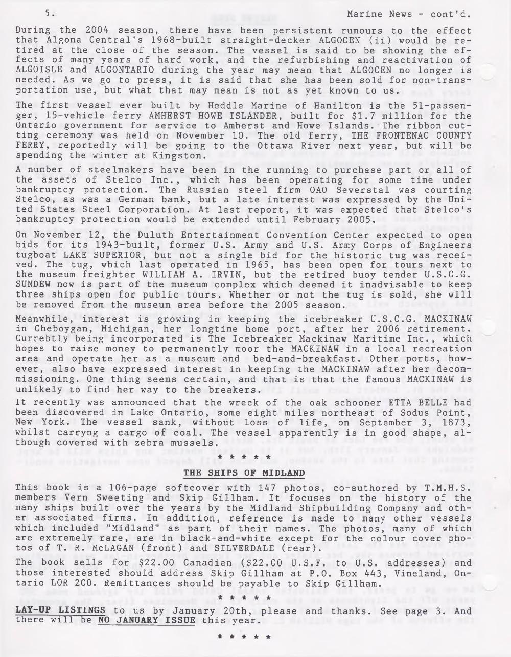 Scanner, v. 37, no. 3 (December 2004)