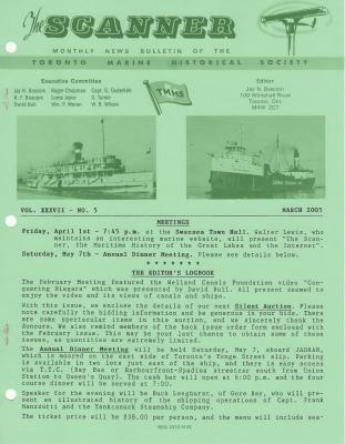 Scanner, v. 37, no. 5 (March 2005)