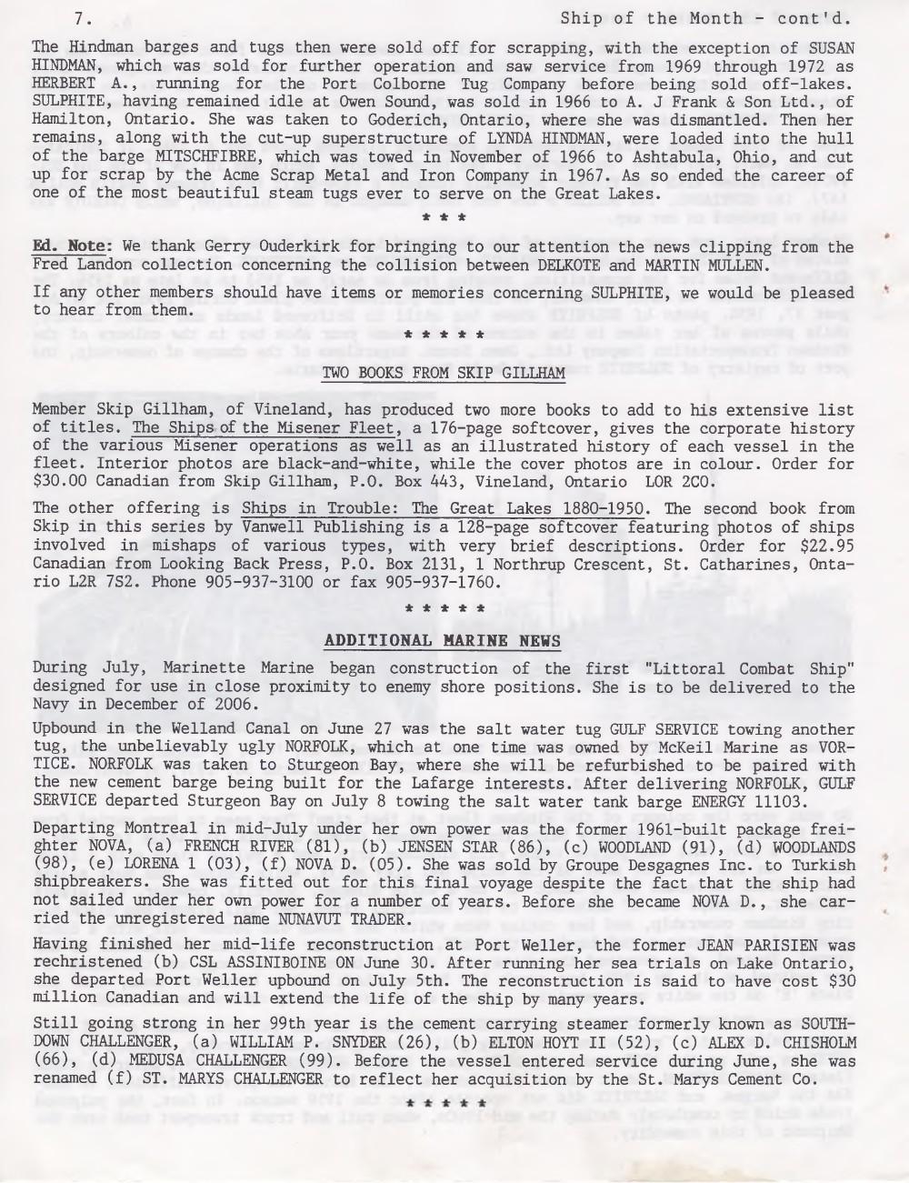 Scanner, v. 37, no. 8 (Mid-Summer 2005)