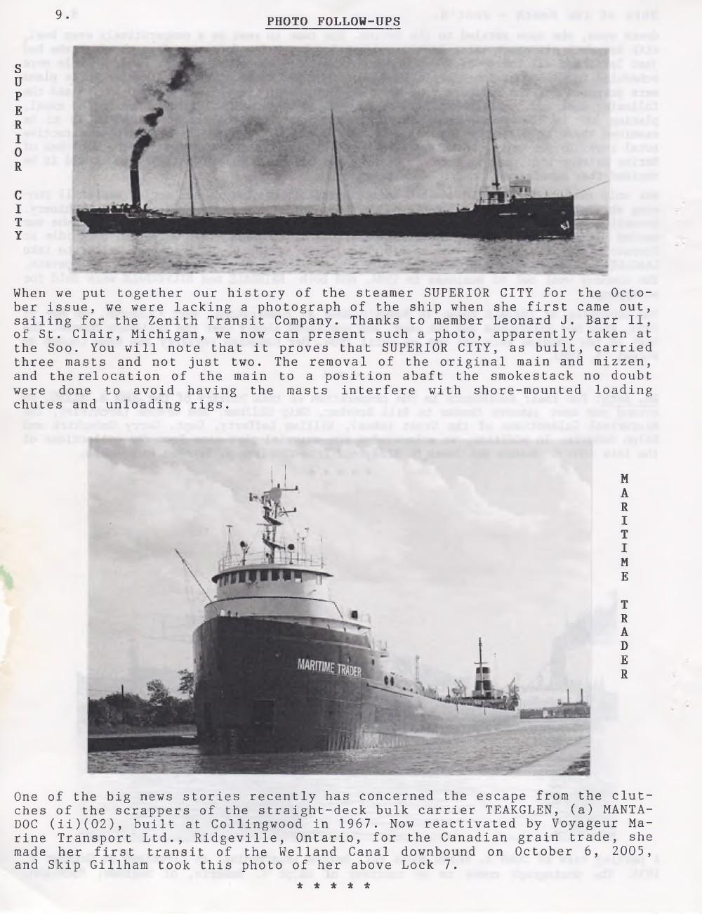 Scanner, v. 38, no. 2 (November 2005)